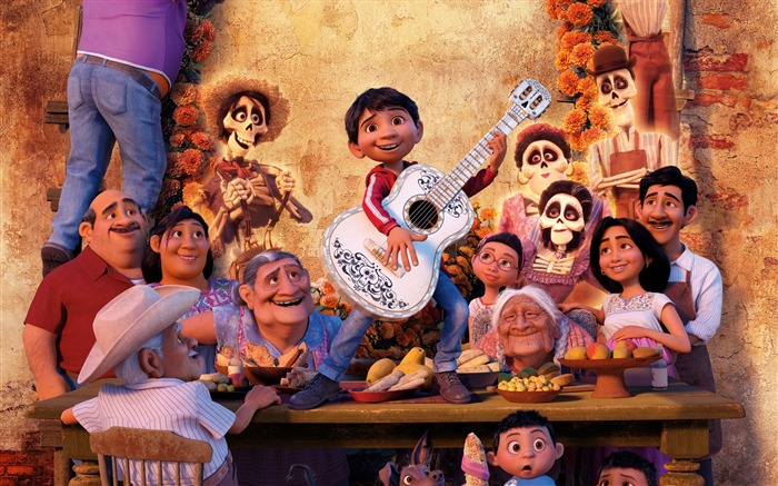 Pixar coco miguel-2017 Movie Wallpaper Views:1129