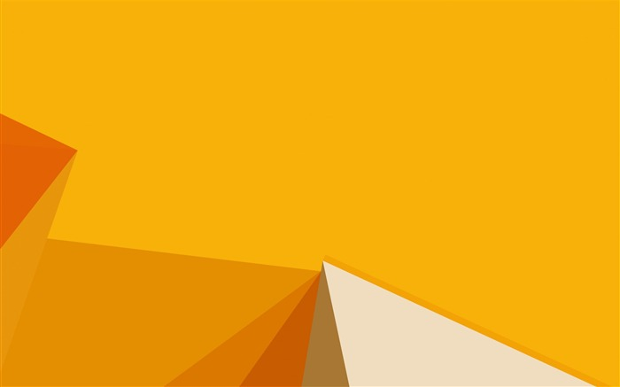 Polygon yellow-Vector HD Wallpaper Views:978