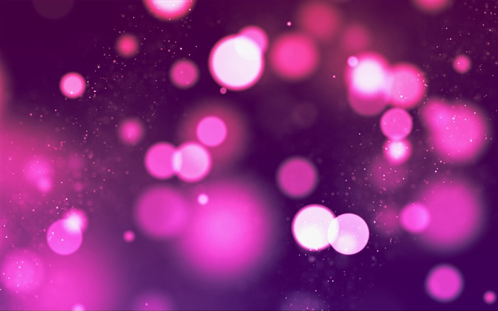 Purple glare lights bokeh-Vector HD Wallpaper Views:1424