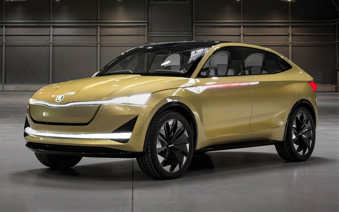 Skoda vision e concept-2017 Auto Wallpaper Views:250