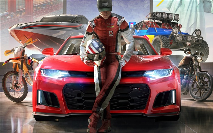 Title:The crew 2 2018-2017 Game HD Wallpapers Views:54