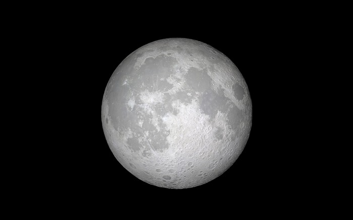 lune blanche-Apple iOS 11 iPhone 8 iPhone X HD Fond d'écran Vues:808