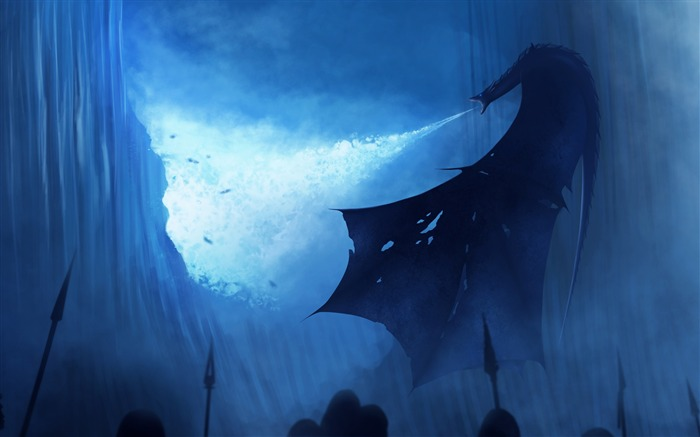 White walker ice dragon game of thrones-2017 Movie Wallpapers Views:221
