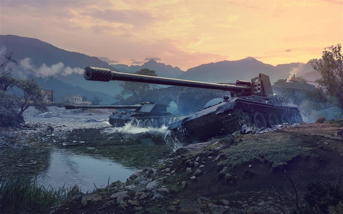 World of tanks german tank destroyers-2017 Game HD Wallpapers Views:926