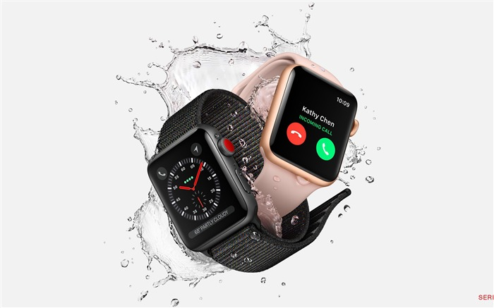 Apple Watch Series 3 2017 Tech Wallpaper
