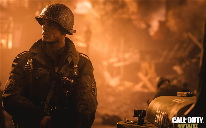 Call Of Duty WW2 2017 Game Wallpapers Views:1164