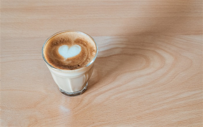 Cappuccino coffee drink on table HD Wallpaper Views:873