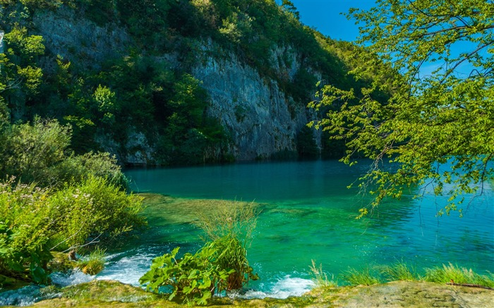 Lake in plitvice-2017 High Quality Wallpaper Views:397