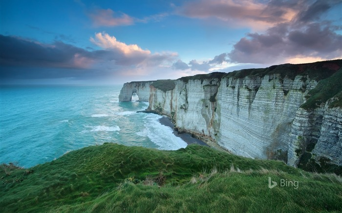 Normandy Cliff of Etretat France 2017 Bing Wallpaper Views:451