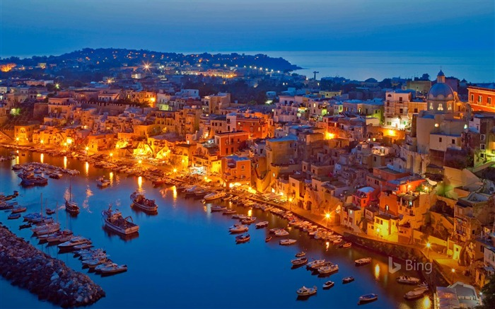 Procida Island in the Gulf of Naples Italy 2017 Bing Wallpaper Views:1264