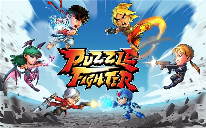 Puzzle fighter 2017 Game Wallpaper Views:946