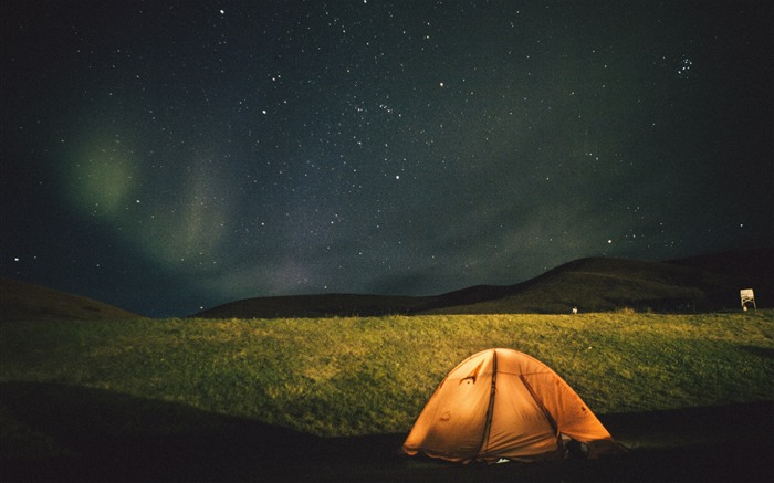 Tent starry sky night-2017 High Quality Wallpaper Views:297