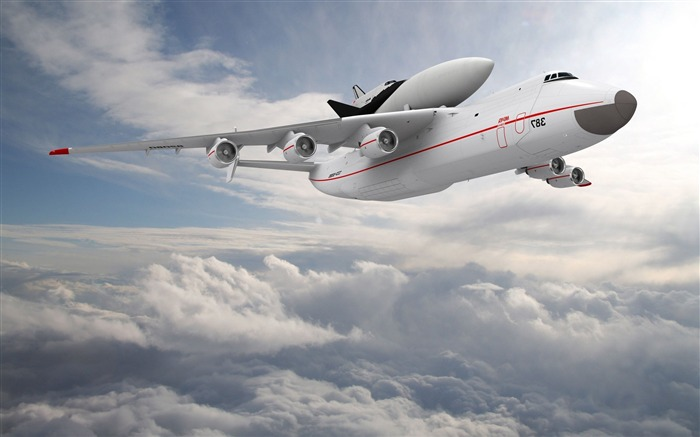 An225 Mriya Aircraft HD Wallpaper Views:396
