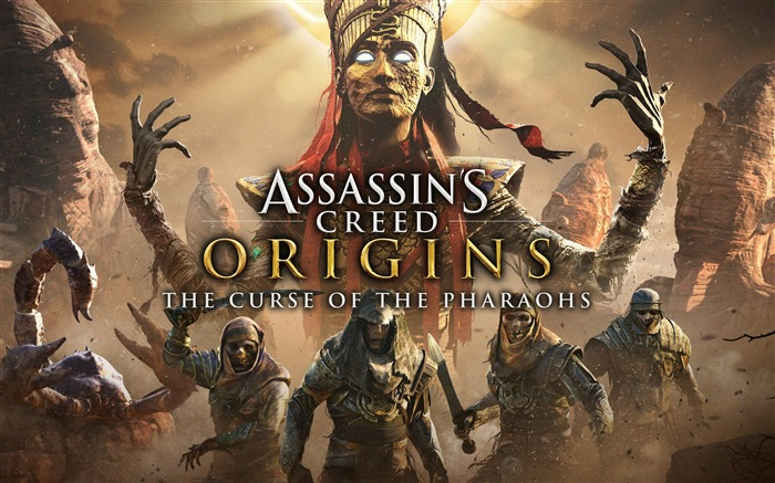 Assassins Creed Origins Pharaohs 2017 Game HD Wallpaper Views:926