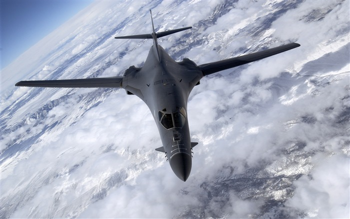 B1 Bomber Aircraft HD Wallpaper Views:465