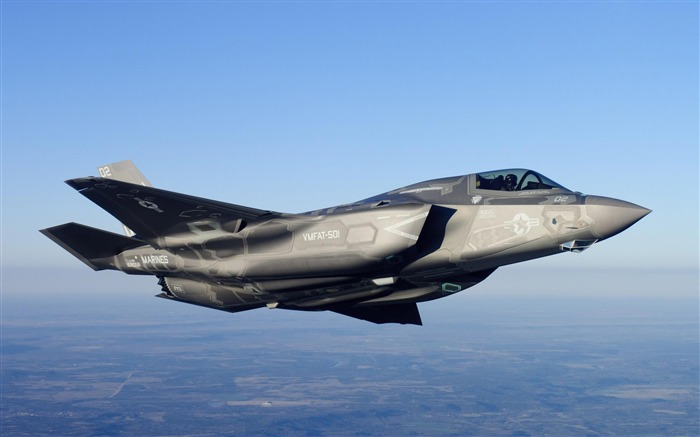 Cool F35 Aircraft HD Wallpaper Views:420