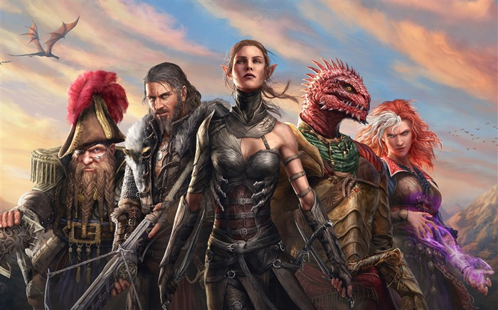 Divinity Original Sin 2 2017 Game HD Wallpaper Views:697