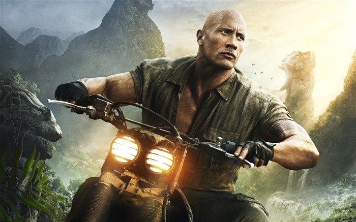 Dwayne Johnson Welcome to the jungle 2017 Movies HD Wallpaper Views:742