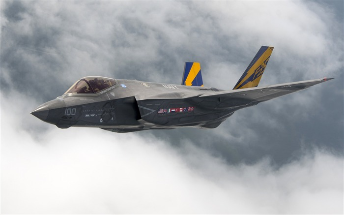 F35 lightning ii stealth fighter Aircraft HD Wallpaper Views:1289