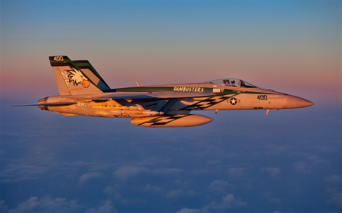 Fa 18e Jet Fighter Aircraft HD Wallpaper Views:379