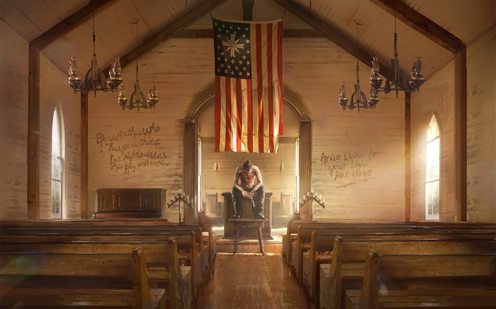 Far Cry 5 Absolution 2017 Game HD Wallpaper Views:1488