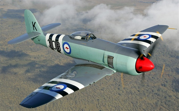 Hawker Sea Fury Aircraft HD Wallpaper Views:329