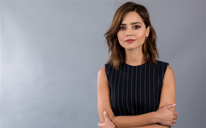 Jenna Coleman 2017 Beauty Wallpaper Views:459