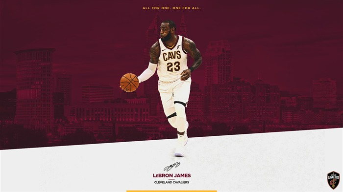 Cleveland Cavaliers 2017-2018 Season Players Wallpaper Views:3387