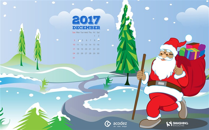 Let us Spread Love And Joy 2017 Calendar Wallpaper Views:740