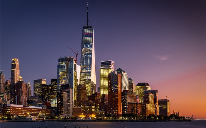 New york manhattan skyscrapers High Quality Wallpaper Views:242