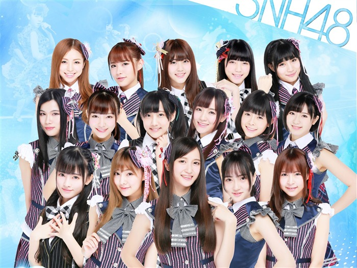 SNH48 Chinese Beauty Combination Wallpaper 05 Views:309