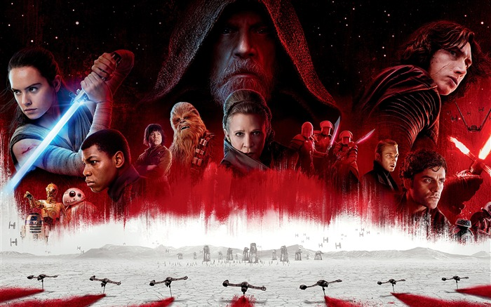2017 Star Wars The Last Jedi Movies 4K Views:1197