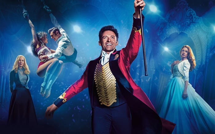 2017 The Greatest Showman 4K HD Poster Views:583