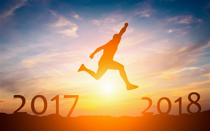 2017 leaping over New Year 2018 Views:610