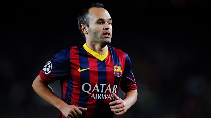 Andres Iniesta FC Barcelona 2017 4K Footballer Photo Views:230