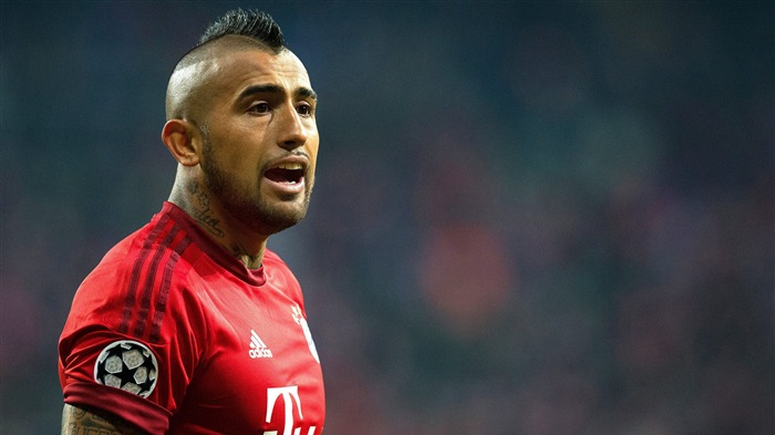 Arturo Vidal Bayern Munich 2017 4K Footballer Photo Views:227