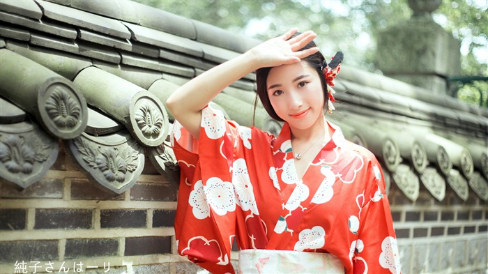 Cute Japanese kimono beauty 4K HD Photo Views:99