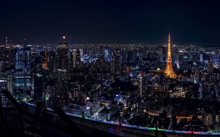 Japon Tokyo Ville Nuit Vue 4k Hd Liste D Albums