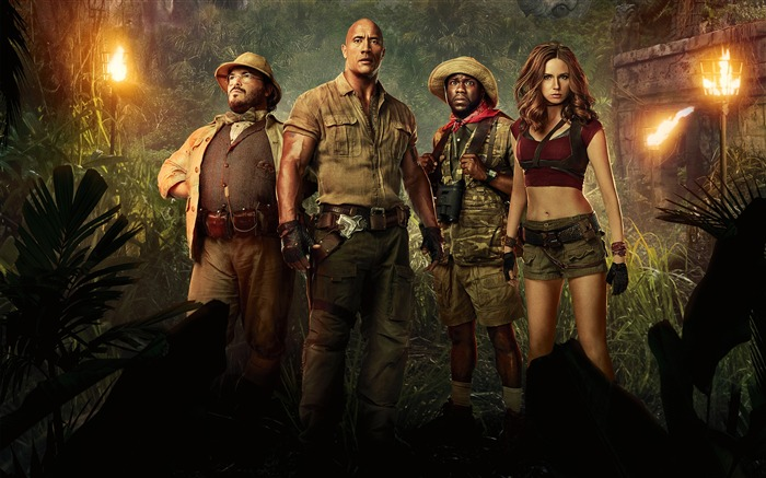 Jumanji Welcome to the Jungle 4K HD Poster Views:722