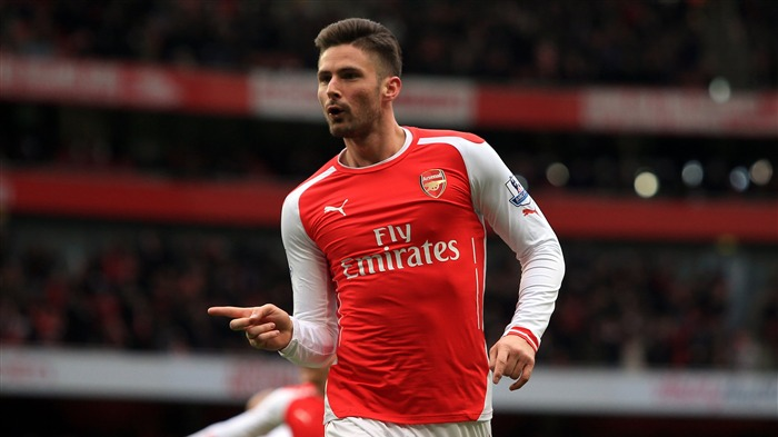 Olivier Giroud Arsenal 2017 Footballer Photo Views:191