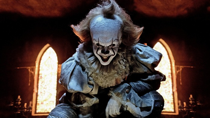 Pennywise the clown in it,2017,4k,HD Vues:514