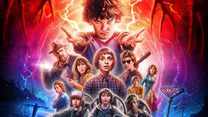 Stranger Things 2017 4k HD Views:432