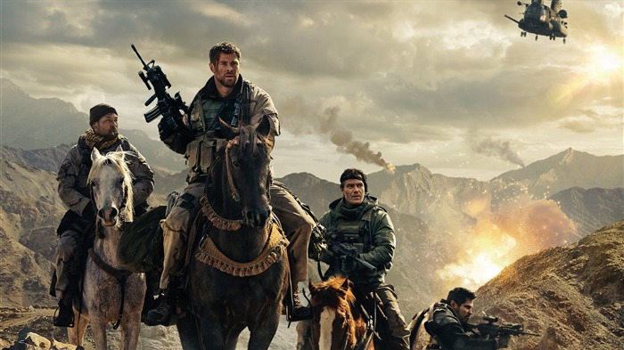 12 Strong 2018 4k Movie Poster Views:997