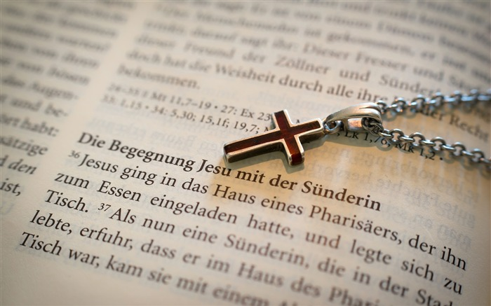 Books necklace love cross bible Views:354
