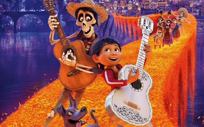 Coco 2017 Disney 3D 4k Movie Poster Views:1358