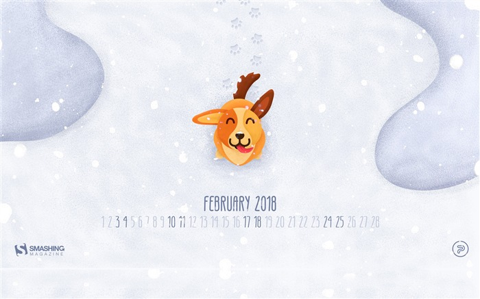 Dog Year Ahead February 2018 Calendars Views:478