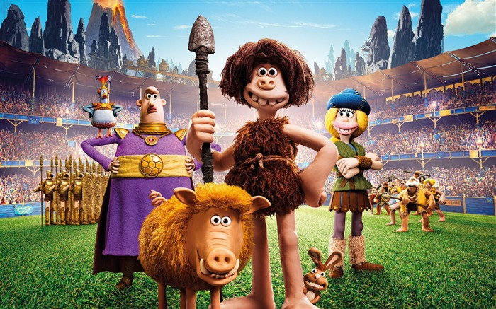 Early Man 2018 Animation 4k Movie Poster Views:1164