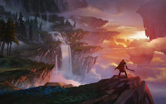 Island vista concept art 2018 Dauntless Views:576