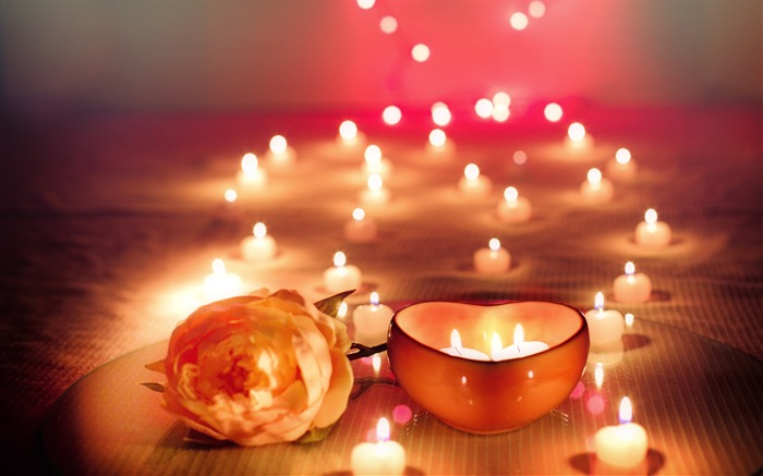 Romantic atmosphere candlelight love Views:818