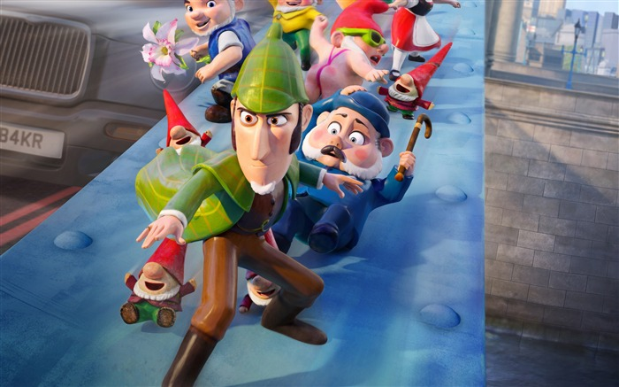 Sherlock Gnomes 2018 Animation 4k Movie Poster Views:1218